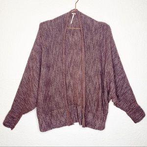 Free People Oversized Knit Cardigan Sweater